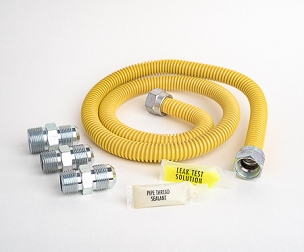 Yellow Coated Dryer Installation Kit